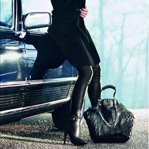 Jimmy Choo Shoes - Jimmy Choo Lamb leather stretch OTK boots!